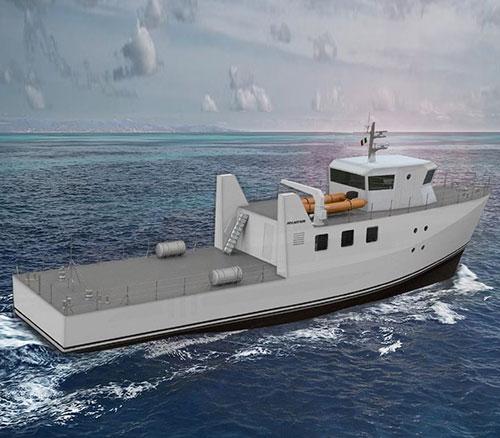 Fincantieri Starts Dry Dock Works for Experimental Vessel ZEUS