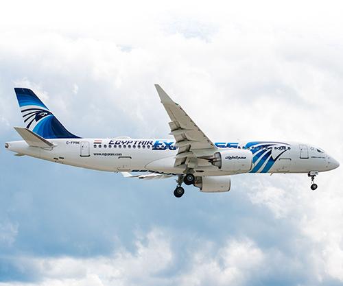First EgyptAir A220-300 Makes Maiden Flight