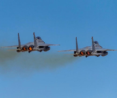 First Military Drill at Saudi Air Warfare Center Launched