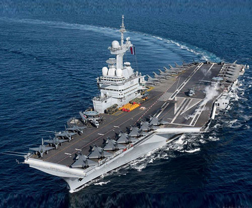 France to Deploy Charles de Gaulle Aircraft Carrier to Middle East