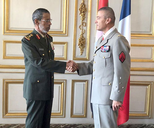 French Chief-of-Staff Receives UAE Counterpart