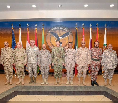 GCC, Egypt, Jordan Attend Chiefs-of-Staff Meeting in Florida