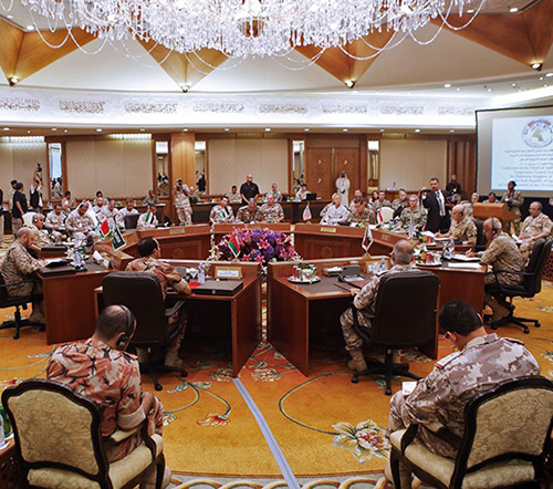 GCC Land Forces Commanders Hold 18th Meeting