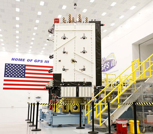 GPS III SV03 Receives Operational Acceptance