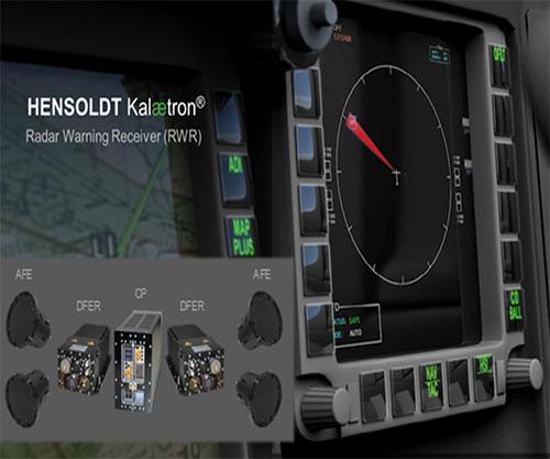 HENSOLDT Kalætron® RWR for Protection against Radar Threats