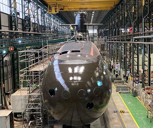 HM King Felipe VI to Preside Launch of First S80 Submarine for Spanish Navy