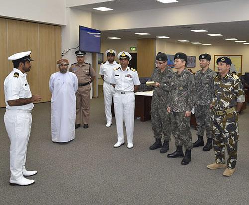 Head of North Korea's Civil-Military Operations Visits Oman