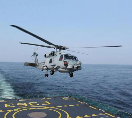 India Requests 24 MH-60R Multi-Mission Helicopters