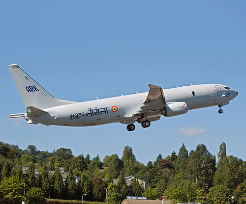 India Requests Six Additional Boeing P-8I Patrol Aircraft