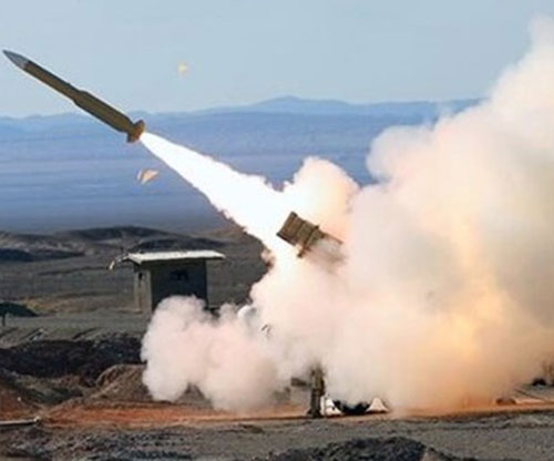 Iran's Ground Force Test-Fires New Smart Missile
