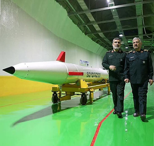 Iran Launches Underground Missile-Production Facility