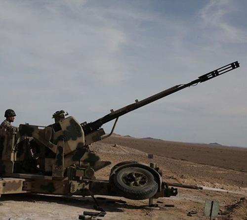 Iran Unveils New Artillery System