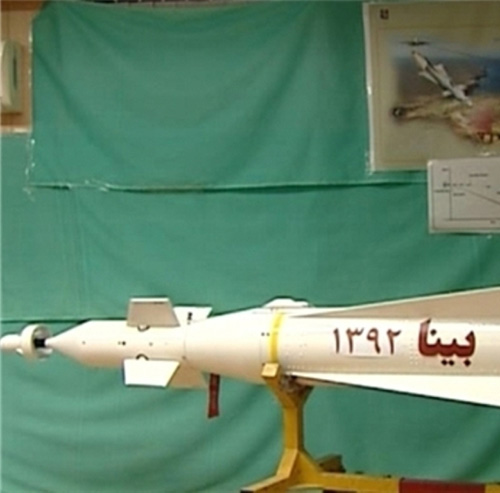 Iran Using New Generation Laser-Guided Missiles in Fighter Jets