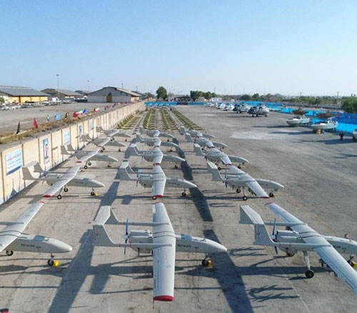 Iranian Navy Receives 188 New Drones, Helicopters