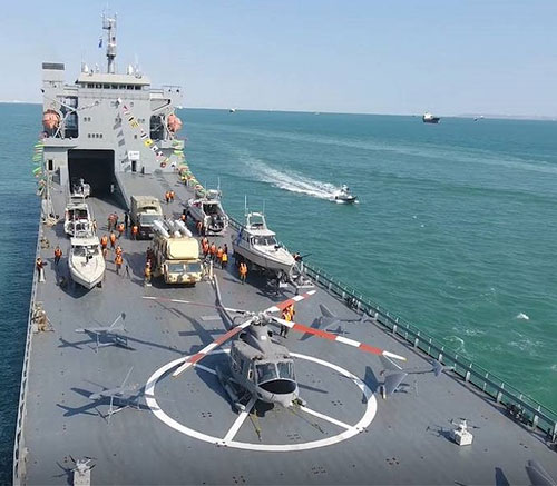 Iranian Navy Receives New Ocean-Going Multifunctional Warship