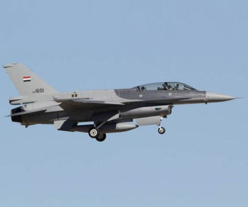 Iraq Receives All 36 F-16IQ Fighting Falcon Jets