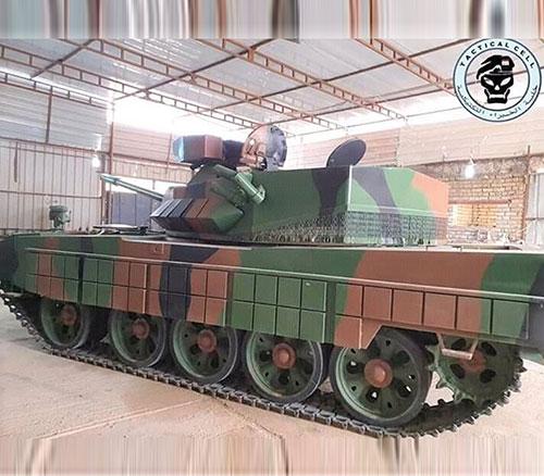 Iraq Unveils T-55 Al-Kafil-1 Main Battle Tank