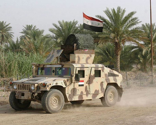 Iraq to Revamp Up to 1,200 Military Vehicles