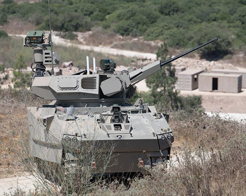 Israel Unveils its Future Armored Fighting Vehicle