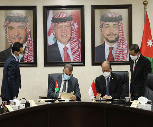Jordan, Indonesia Sign MoU for Security Cooperation