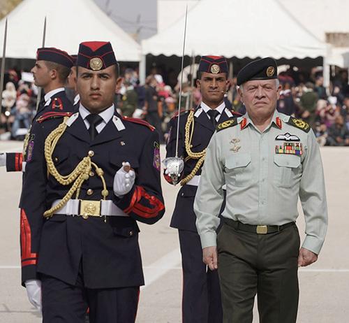 Jordan's Supreme Commander Patronizes Military Graduation Ceremony