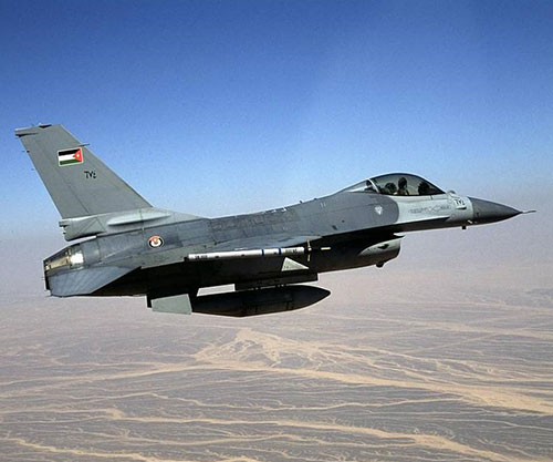 Jordan Requests F-16 Air Combat Training Center