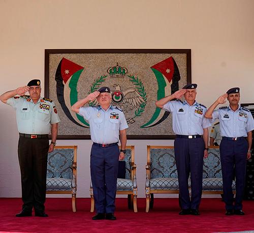 Jordanian King Attends Air Force Cadets Graduation