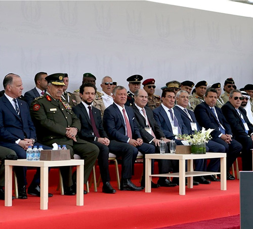 Jordanian King Inaugurates SOFEX 2018