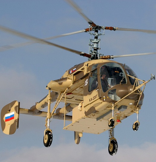 Ka-226T Becomes World's First Modular Helicopter