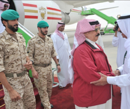 King of Bahrain Attends Closing Ceremony of Gulf Shield 1