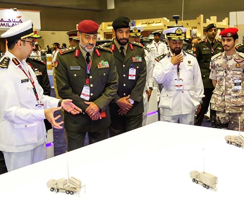 Kuwait's Deputy Chief-of-Staff Tours DIMDEX 2018