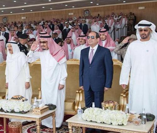 Kuwait's Emir Attends Closing Ceremony of Gulf Shield 1