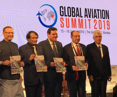 Kuwait Joins Global Aviation Summit in Mumbai