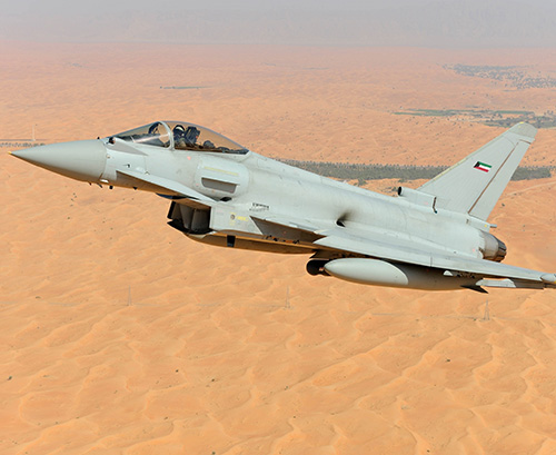 Kuwait to Get First Batch of Eurofighter Typhoons in Q4 2020
