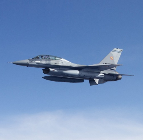 Romanian Air Force to Get Training System for F-16 Fleet