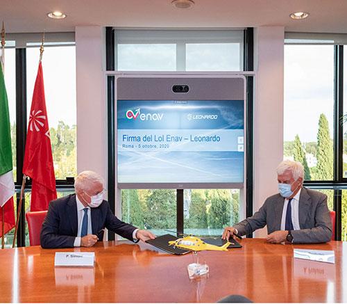 Leonardo, ENAV to Develop Safer Solutions for Civil Helicopters