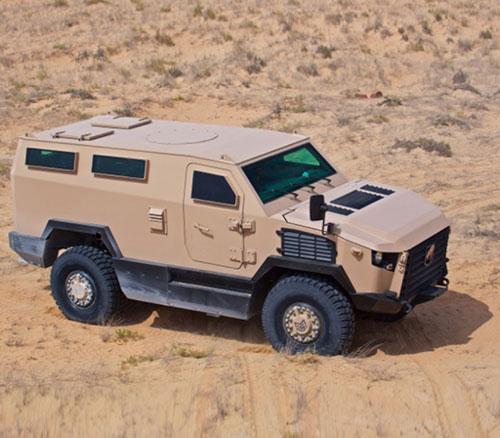 MLS Patents Falcon V-Hull Blast Protection System in UAE, Saudi Arabia