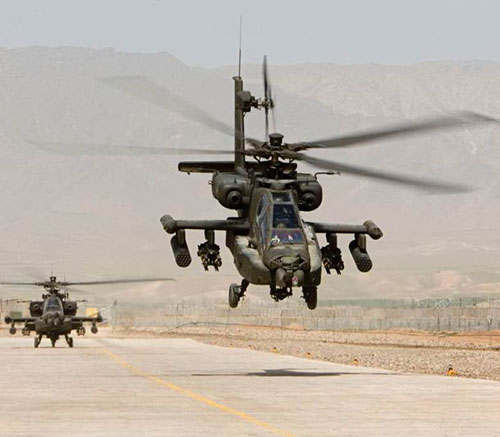 Morocco Requests 36 AH-64E Apache Attack Helicopters