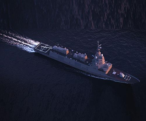 Navantia Offers F-110 for Hellenic Navy's Frigate Needs