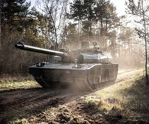 Nexter to Renovate, Sustain 50 Leclerc Tanks for French Armed Forces