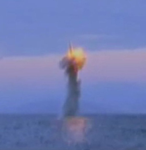 "North Korea Building ""Sinpo-C-Class"" Submarine"