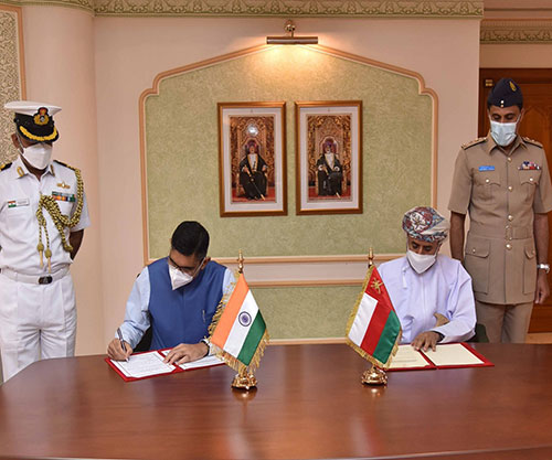 Oman, India Renew Military & Maritime Cooperation Agreements
