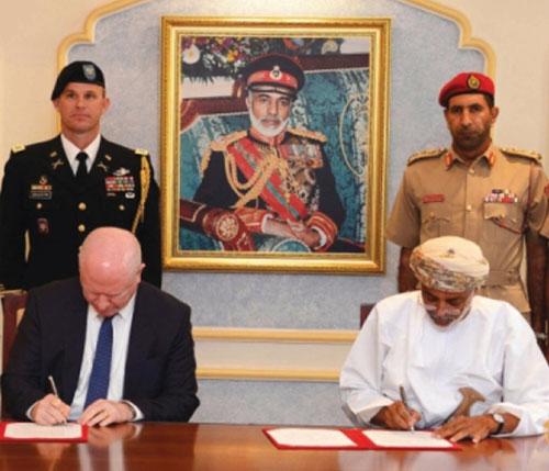 Oman, US Enhance Military Cooperation