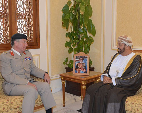 Oman Receives Chief of General Staff of British Army