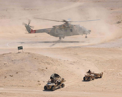Omani, US Forces Conduct Demonstration of Joint Military Exercise