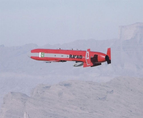 Pakistan Tests Ra'ad II Nuclear-Capable Cruise Missile