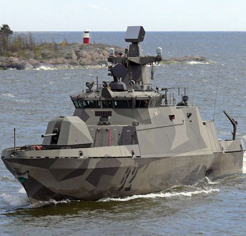 Patria to Upgrade Hamina Class Fast Attack Craft