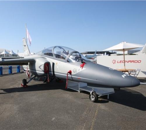 New M-345 Trainer Aircraft Makes Debut at Paris Air Show