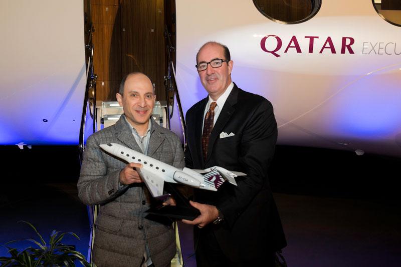 Qatar Airways Receives First Gulfstream G650ER Aircraft