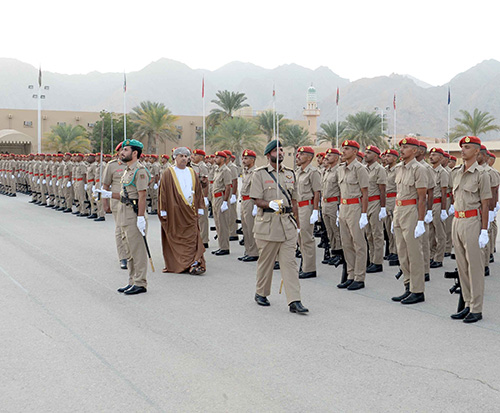 Royal Army of Oman Celebrates Recruits Graduation